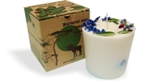 Soy wax candle with a cotton wick, 350 ml/12oz